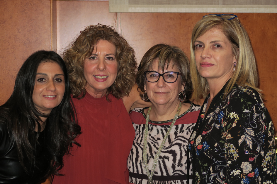 Sonia Núñez, Beatriz Pérez, Covadonga Delgado y Esther Amaro