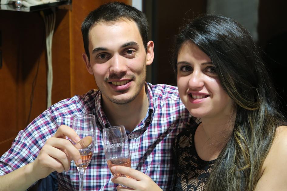Noel Basalo y Paula Servia