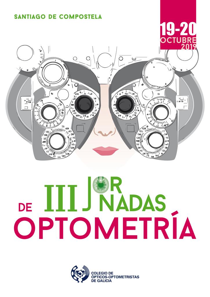 Cartel III Jornadas Optometria 2019
